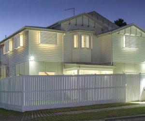 Casa prefabricada de madera modulares y Casa Móvil o Mobile Homes Blanca