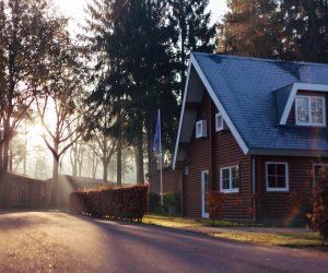 Casa prefabricada de madera modulares y Casa Móvil o Mobile Homes Arcilla