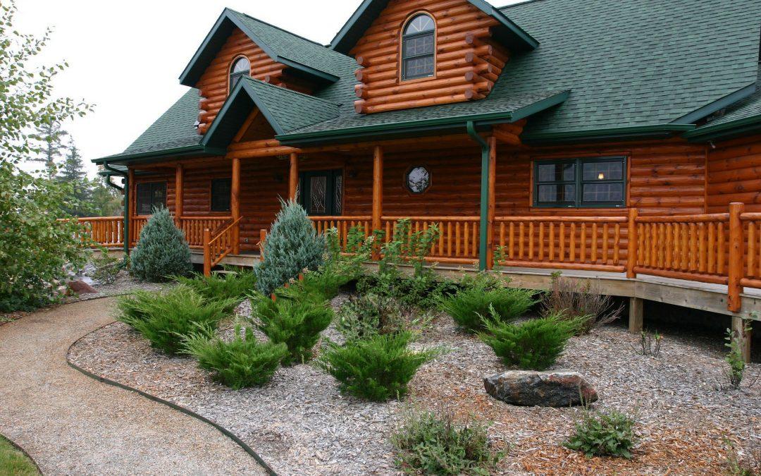 Casa prefabricada de madera modulares y Casa Móvil o Mobile Homes de Tejado Verde