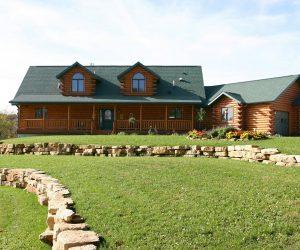 Casa prefabricada de madera modulares y Casa Móvil o Mobile Homes de Tejado Verdoso