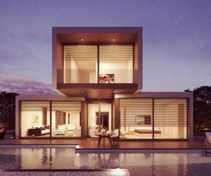 Casa prefabricada de madera modulares y Casa Móvil o Mobile Homes Acristalada