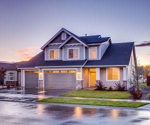 Casa prefabricada de madera modulares y Casa Móvil o Mobile Homes con Tejado Azul