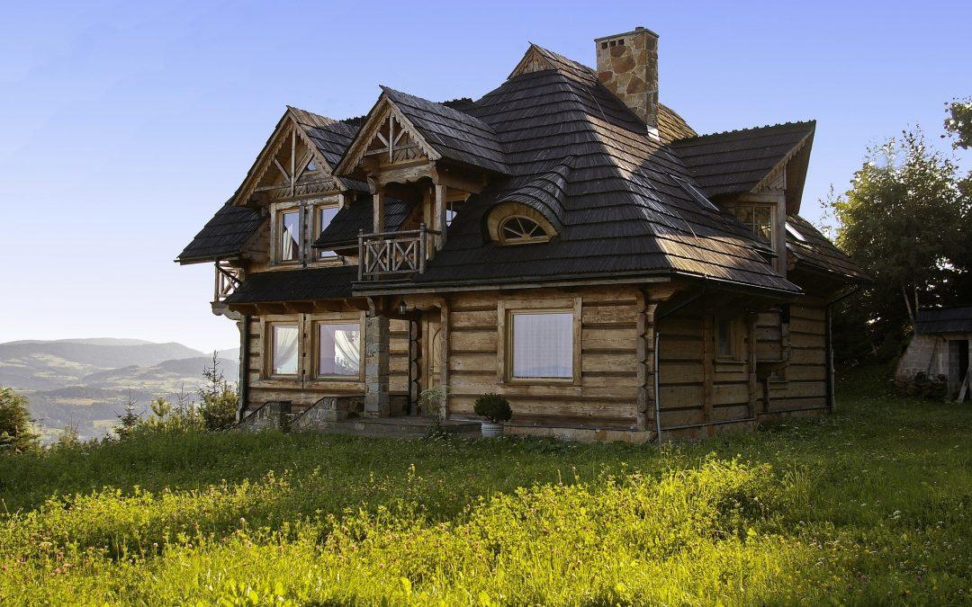 Casa prefabricada de madera modulares y Casa Móvil o Mobile Homes Negra