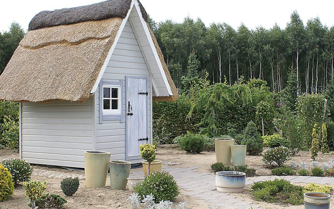 Casetas de Jardín con Tejado Marrón